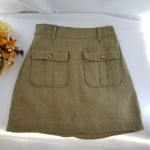 LOFT Career Brown Skirt Sz 2